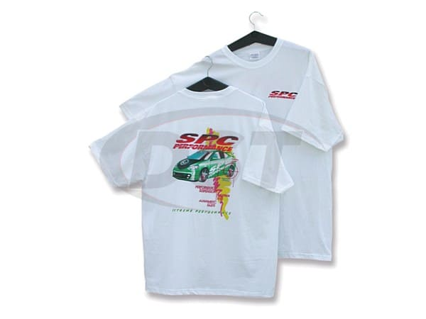 spc-64000xl WHITE T-SHIRT-XLARGE