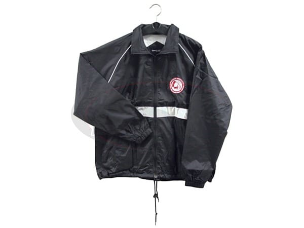 spc-66070xl BLACK NYLON JACKET-XL