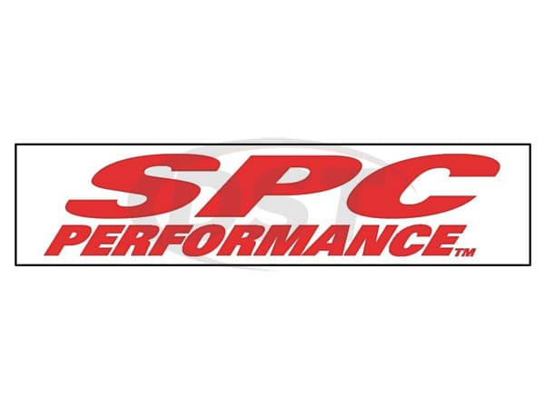 spc-67002 RED ON WHITE SPC DECAL