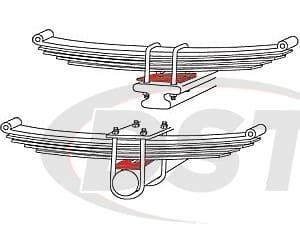 spc-81099 TRUCK AXLE SHIMS  ZINC CASTER/