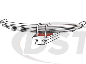 spc-89399 ZINC AXLE SHIMS 1-1/2(6)