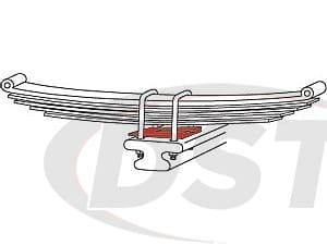 spc-89599 ZINC AXLE SHIMS 2-1/2(6)