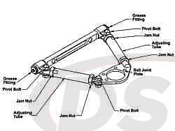 spc-92556 ADJ. UCA - RACING