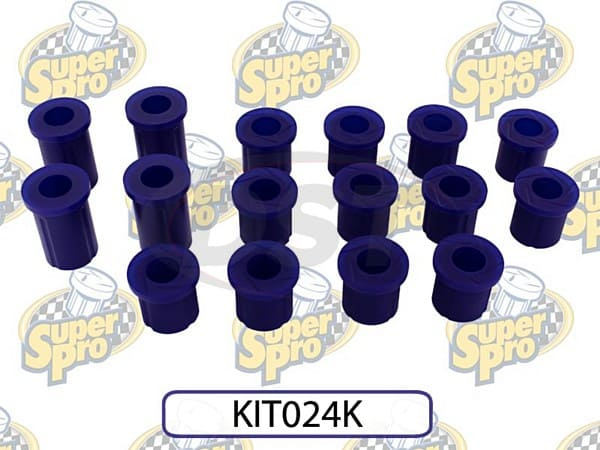 kit024k Front and Rear Leaf Spring Bushing
