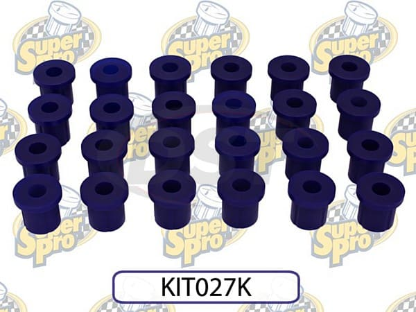 kit027k Front and Rear Leaf Spring Bushing