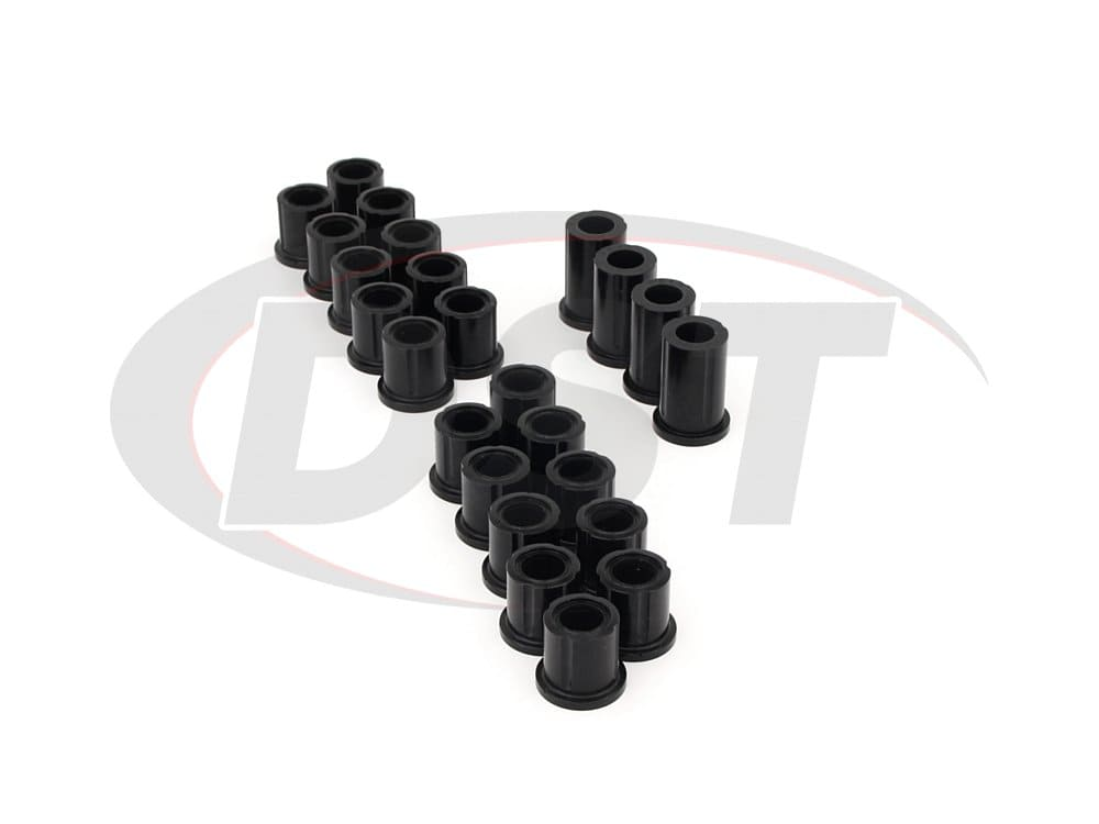 kit038hk Front and Rear Leaf Spring Bushing Kit - Heavy Duty