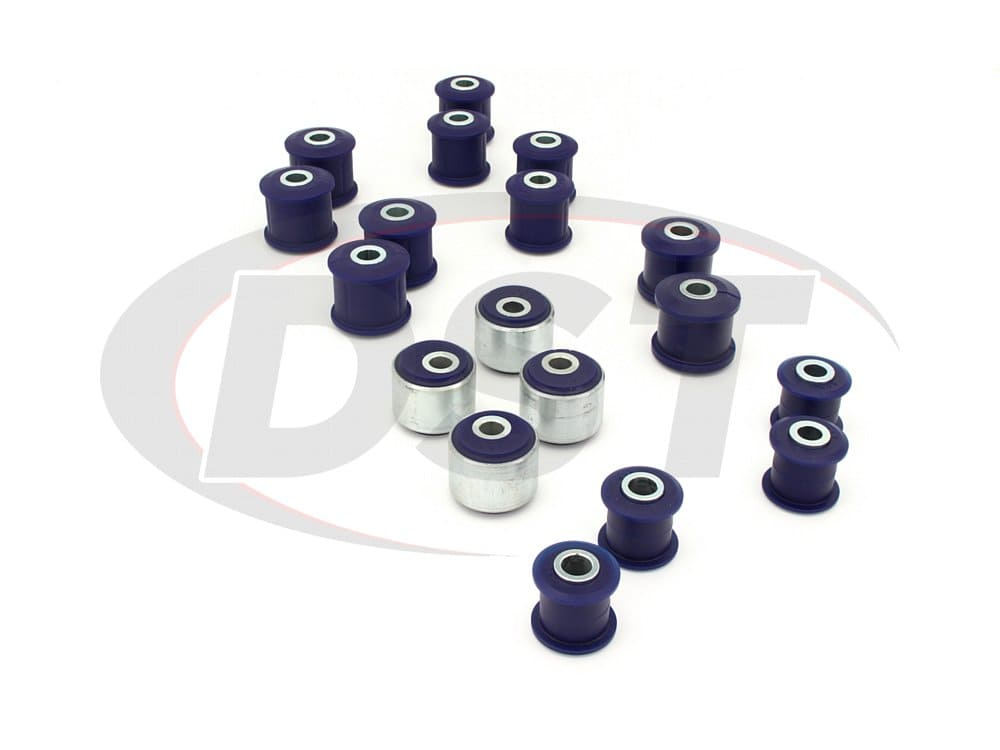 kit058adjk Front and Rear Radius Arms and Panhard Rods Bushing Kit