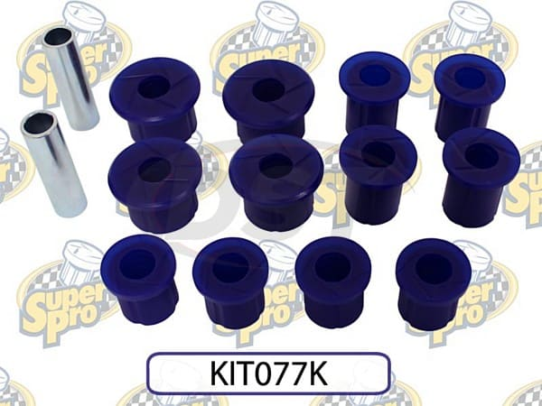 kit077k Rear Leaf Spring Bushing