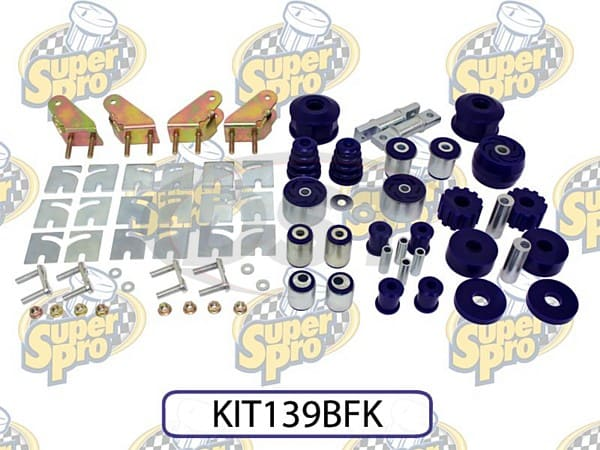 kit139bfk Front and Rear Vehicle Master Kit