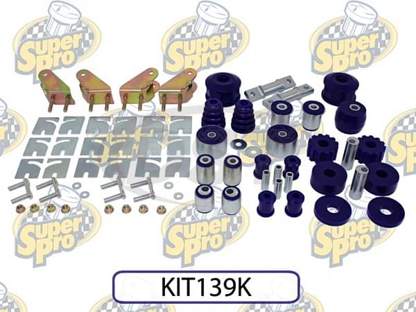 kit139k Front and Rear Vehicle Master Kit
