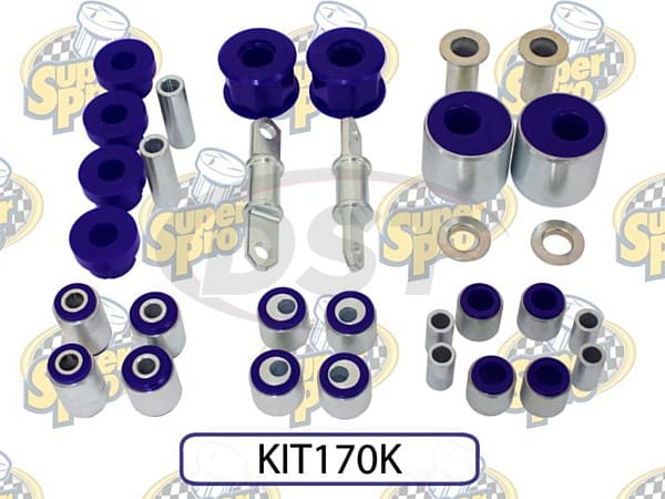 kit170k Front and Rear SuperPro Alignment Kit