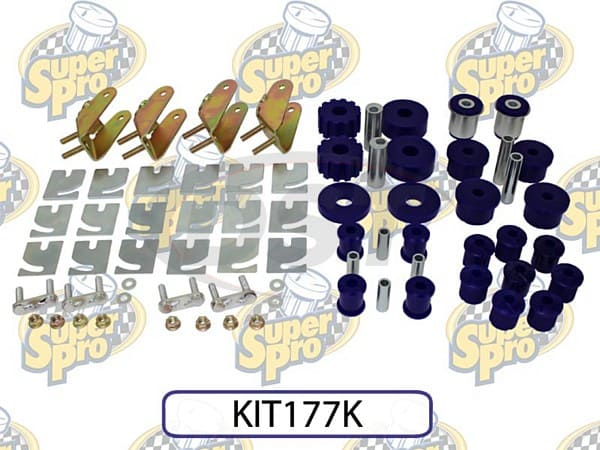 kit177k Front and Rear Vehicle Master Kit