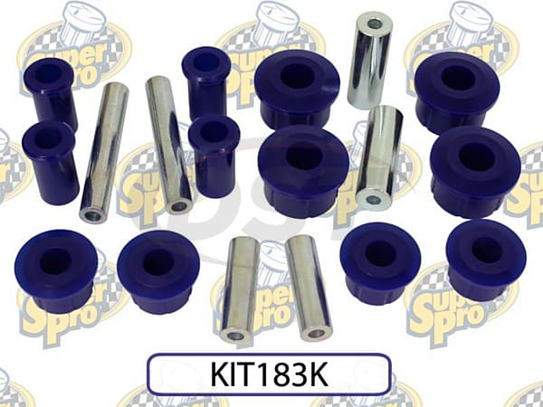 kit183k Rear Leaf Spring Bushing