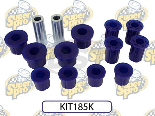kit185k Rear Leaf Spring Bushings