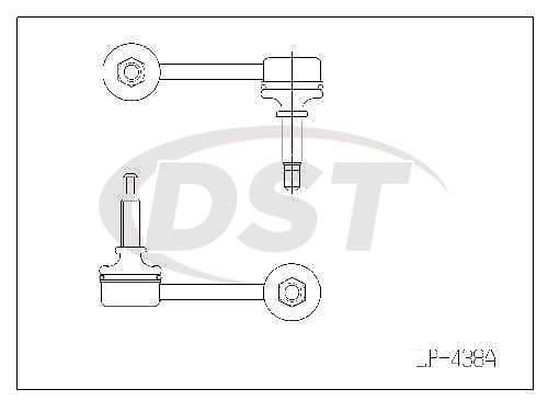 lp438a Suspension Bushing Kit