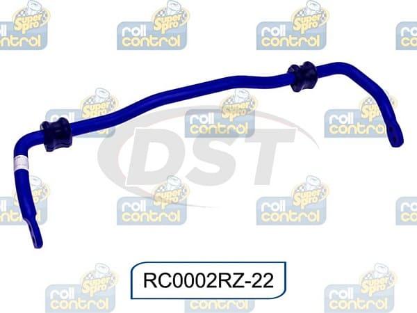 rc0002rz-22 Rear 22mm Heavy Duty Blade 3 Point Adjustable Sway Bar
