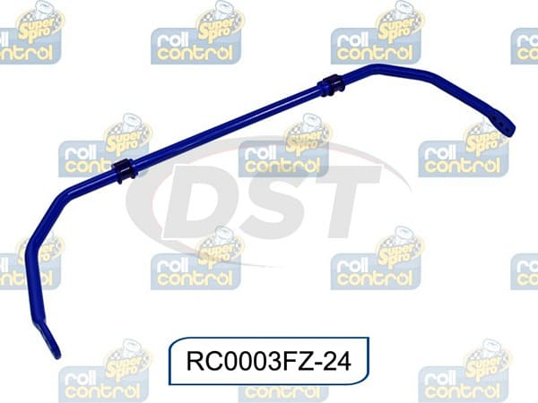 rc0003fz-24 Front 24mm Heavy Duty 3 Point Adjustable Sway Bar