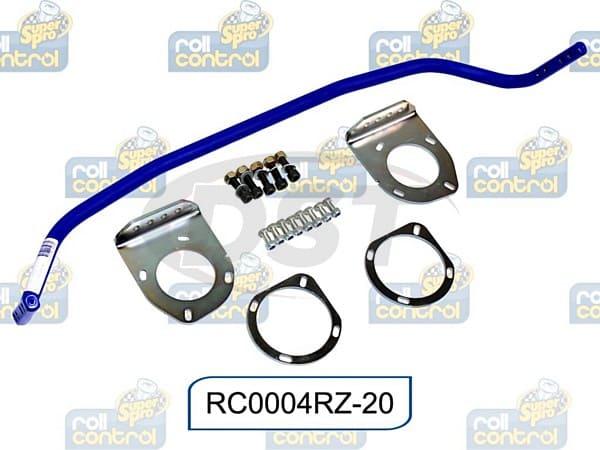 rc0004rz-20 Rear 20mm Heavy Duty 2 Point Adjustable Sway Bar