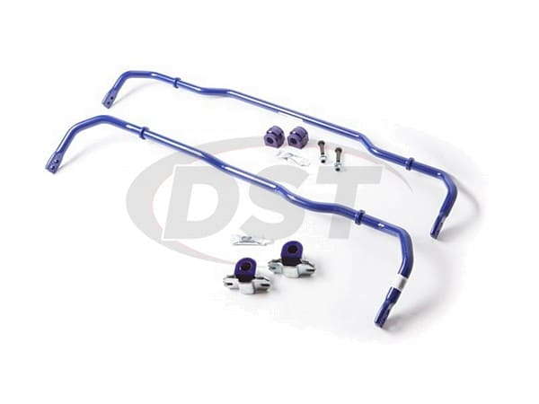 Front and Rear 24mm Front Adjustable and 22mm Rear Adjustable Sway Bar Kit