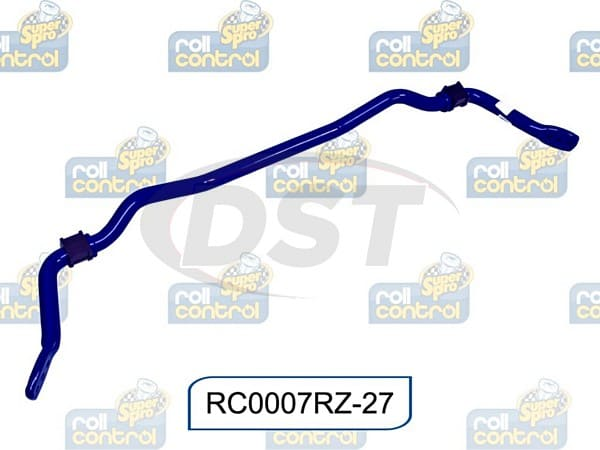 rc0007rz-27 Rear Sway Bar - 27mm - Heavy Duty - 3 Point Adjustable