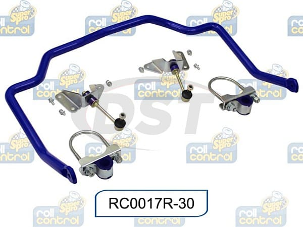 rc0017r-30 Rear 30mm Heavy Duty Non Adjustable Sway Bar Kit