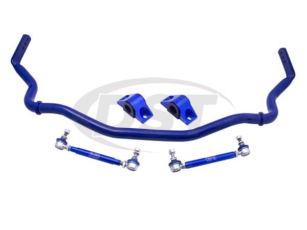 rc0074fhz-35 Front Sway Bar and Endlink Kit - 35mm Heavy Duty - Hollow - 3 Point Adjustable