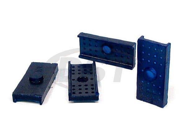 spf0027k Rear Spring Insulator Pads - 38mm (1.5 Inch)