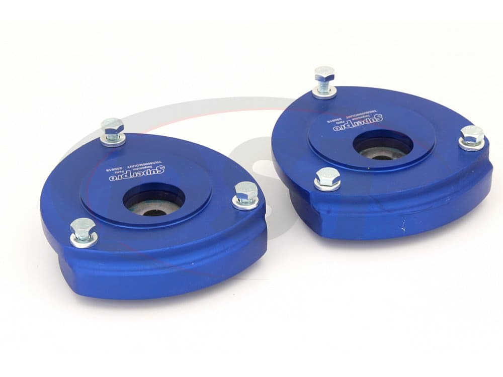 trc5000 Front Strut Mounts - Offset with Extra Camber