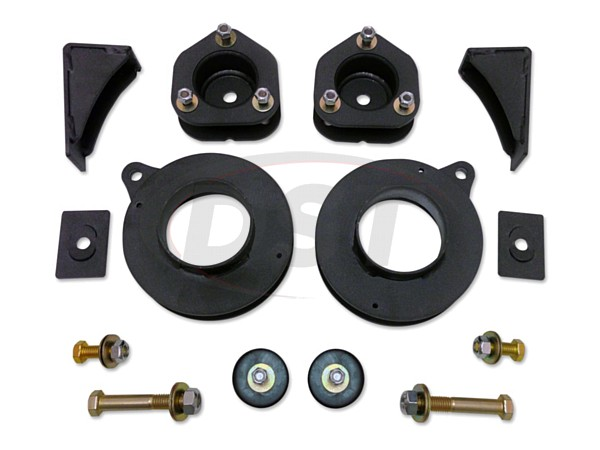 Complete Kit (w/o Shocks) - 2.5in Lift Kit with front and rear coil spacers