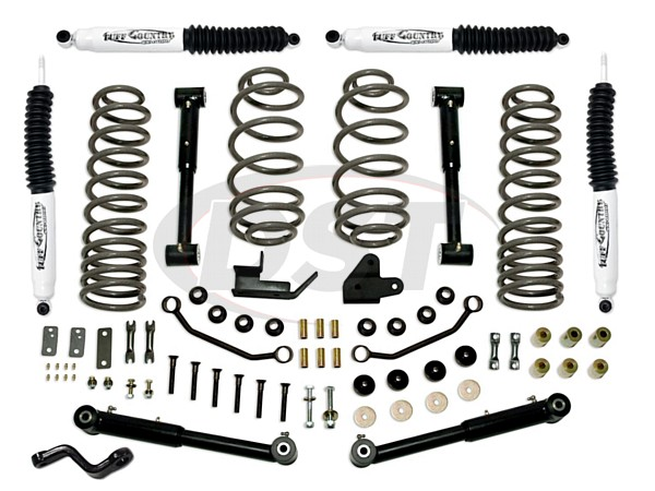 tc-44902kn Complete Lift Kit (w/SX8000 Shocks) - 4 in