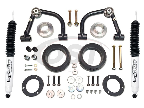 tc-52011kh Complete Kit (w/SX6000 Shocks) - 3 in