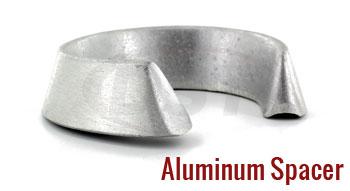 Universal Coil Spring Isolator Aluminum