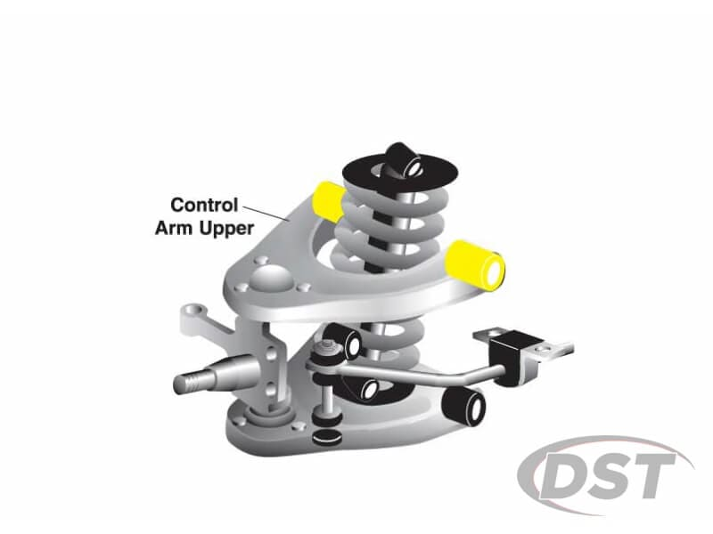 w51511 Front Upper Control Arm Bushings - Inner Position