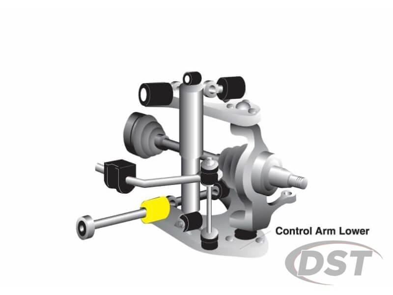 w51603 Front Lower Control Arm Bushings - Inner Rear Position