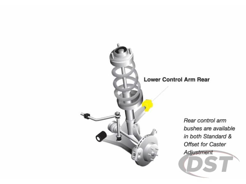 w52605 Front Lower Control Arm Bushings - Inner Rear Position