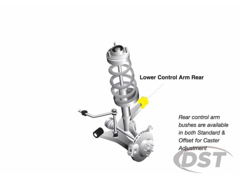 w52613 Front Lower Control Arm Bushings - Inner Rear Position