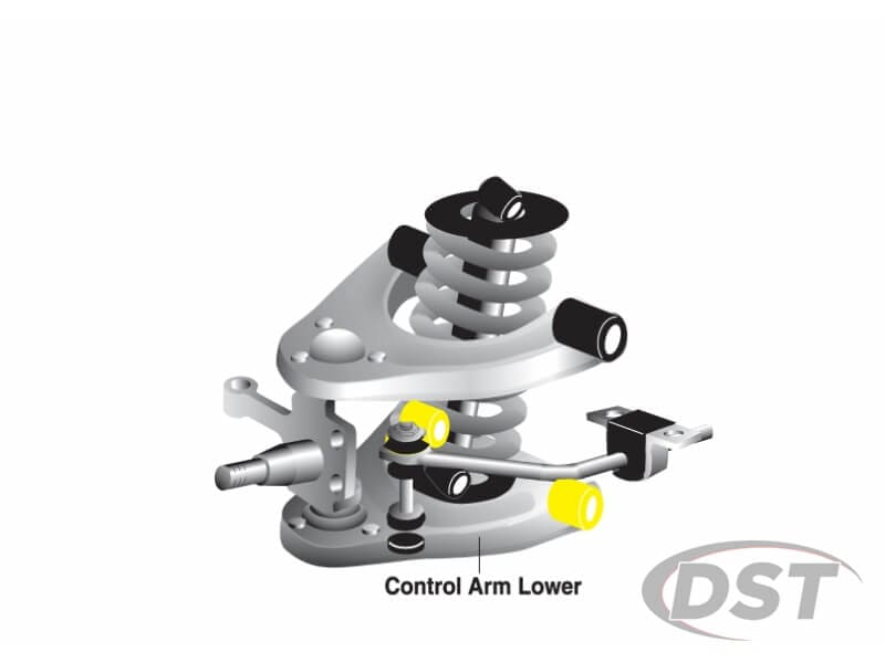 w61203 Front Lower Control Arm Bushings - Inner Position