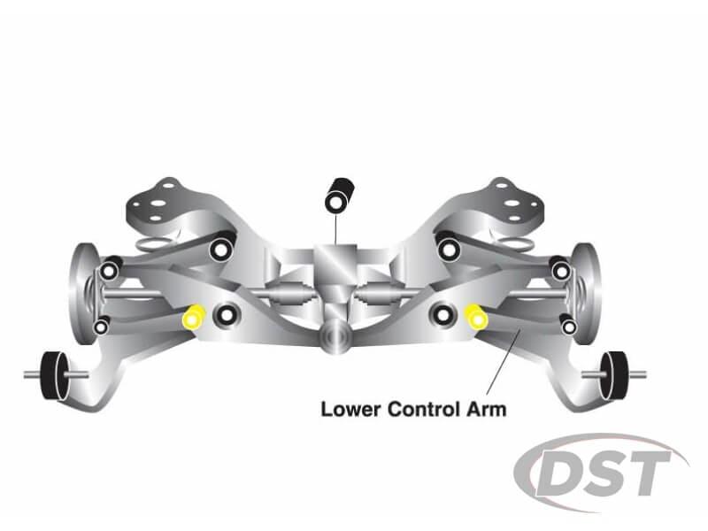 w62012 Rear Lower Control Arm Bushings - Inner Position
