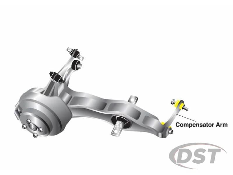 w62215 Rear Compensator Arm Bushings - Trailing Arm to Frame