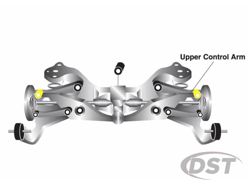 w62384 Rear Upper Control Arm Bushings - Camber Correction
