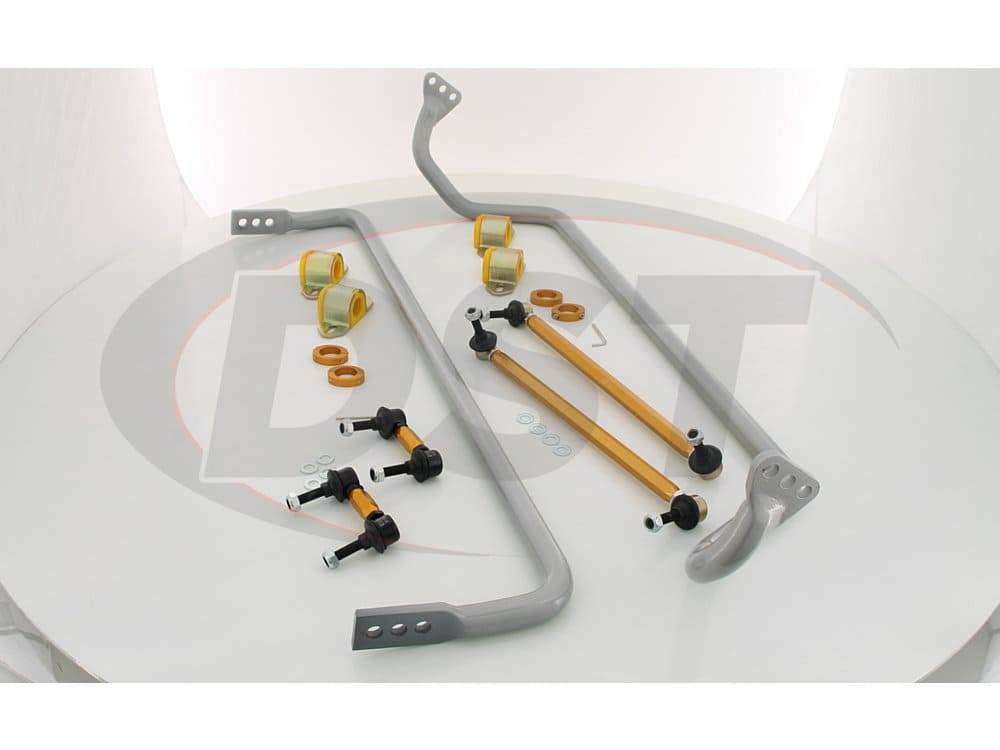 bck001 Chevrolet Camaro Front and Rear Anti-Sway Bar Kit - 3 Point Adjustable
