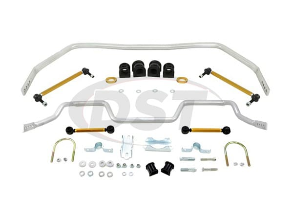 bfk005 Front and Rear Sway Bar and Endlink Kit - 33mm Front - 27mm Rear - 4 Point Adjustable