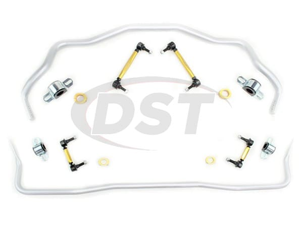 bfk006 Front and Rear Sway Bar and Endlink Kit - 35mm Front - 25mm Rear - 3 Point Adjustable
