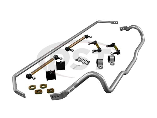 bfk009 Front and Rear Sway Bar and Endlink Kit - 24mm Front - 22mm Rear
