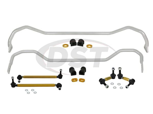 bhk007 Front and Rear Sway Bar and Endlink Kit - 26mm Front - 22mm Rear
