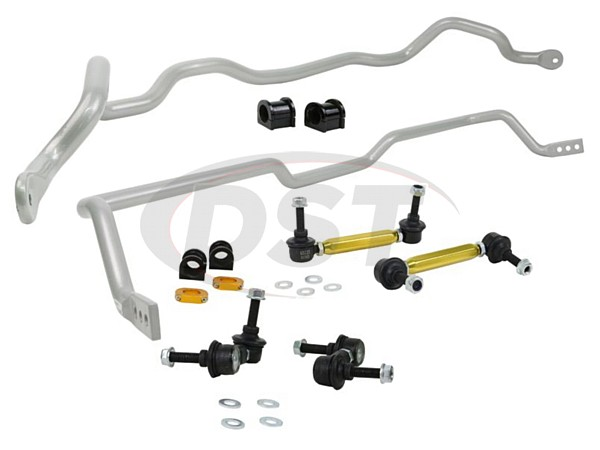 bmk009 Front and Rear Sway Bar and Endlink Kit - 26mm Front - 24mm Rear - 4 Cyl