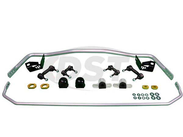 bmk013 Front and Rear Sway Bar and Endlink Kit - 24mm Front - 16mm Rear - 4 Cyl