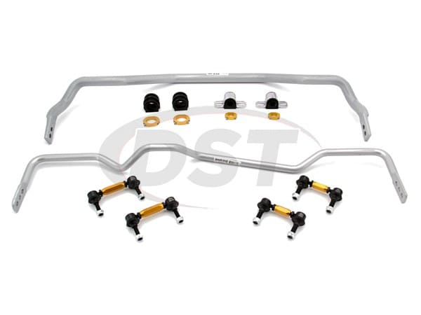 Front and Rear Sway Bar and Endlinks Kit - 32mm Front Adjustable - 20mm Rear Adjustable