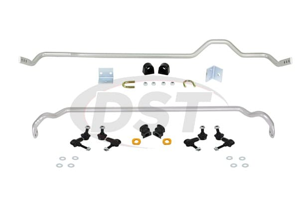 Front and Rear Sway Bar and Endlink Kit - 22mm Front - 22mm Rear - 4 Cyl