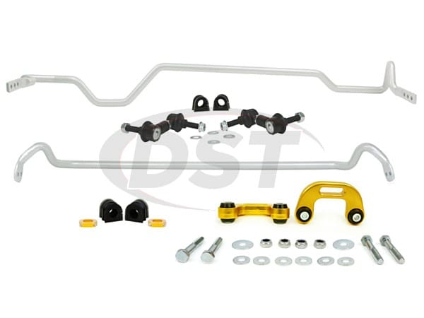 bsk007 Front and Rear Sway Bar and Endlink Kit - 22mm Front - 22mm Rear - 4 Cyl